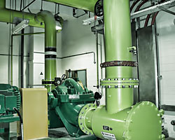 Services for Chilled Water System